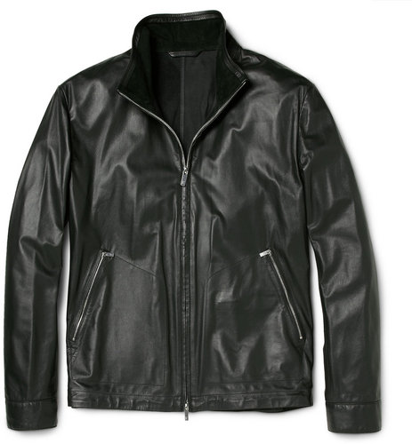 Faconnable Leather Jacket