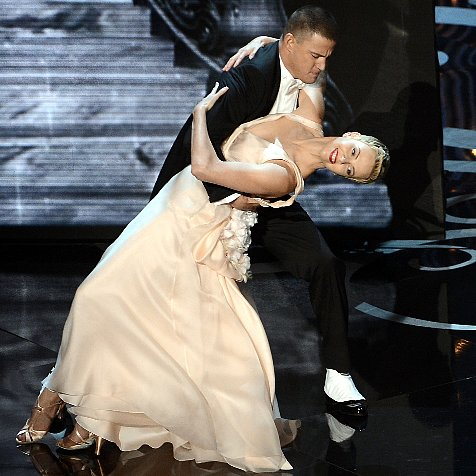 Channing Tatum and Charlize Theron Oscars Dance