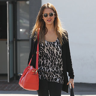 Jessica Alba Running Errands in West Hollywood | Pictures
