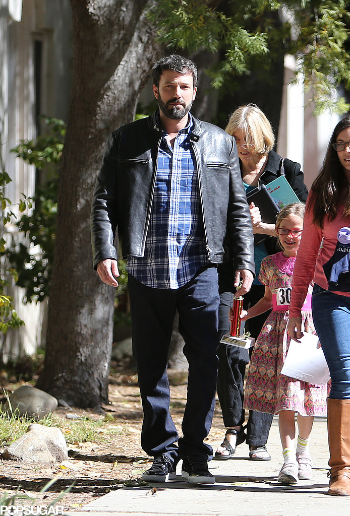 Ben Affleck Celebrates Violet's Big Win Before His Own