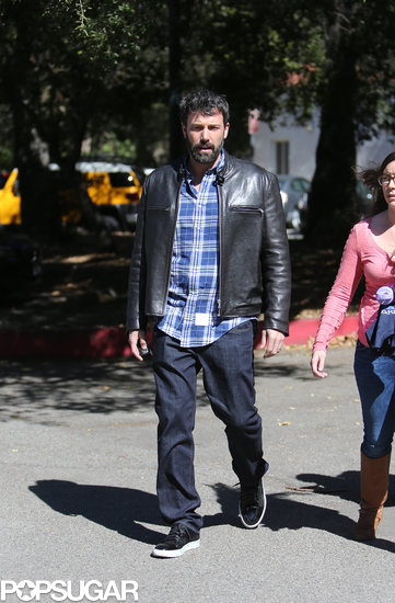 Ben Affleck spent the day with his daughter ahead of the Oscars.