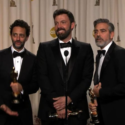 Ben Affleck Backstage at Oscars Video