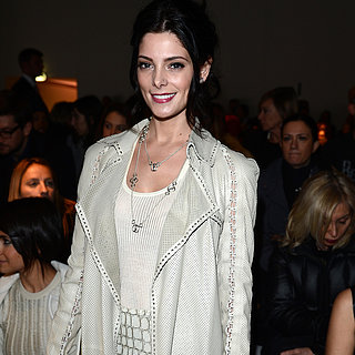 Milan Fashion Week Fall 2013 Celebrity Pictures
