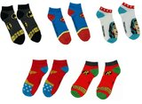 DC Superhero Sock Collection