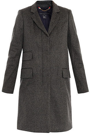 Marc by Marc Jacobs Serge tweed coat