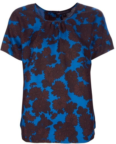 Marc By Marc Jacobs floral print top