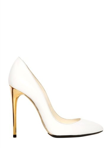 Max Verre - 110mm Brushed Calfskin Pumps