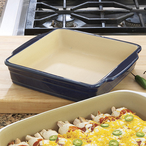 Haeger Natural Stone Baking Dish, Square