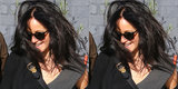 Jennifer Lawrence Steps Out With New Dark Brown Hair