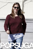 Jennifer Garner headed to lunch with her kids.