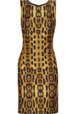 Oscar de la Renta for The Outnet leopard silk dress ($895)