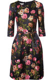 Oscar de la Renta for The Outnet floral-jacquard dress ($995)