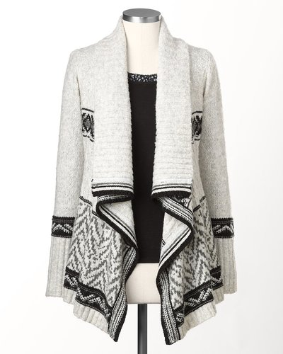 Winter wonder cardigan
