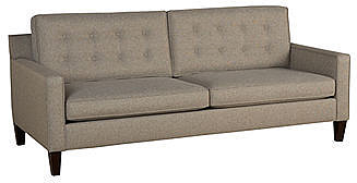 Ava Fabric Sofa, 81&quot;W x 37&quot;D x 34&quot;H