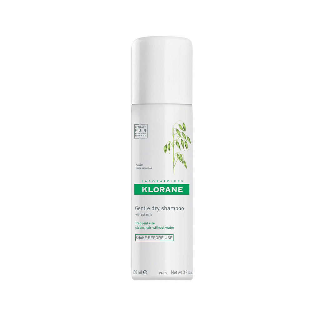 There is zero reason not to jump on the dry shampoo train when Klorane Gentle Dry Shampoo ($18) is on the market. The main ingredient is oat milk, which not only cleanses the hair, but also leaves it soft and silky.