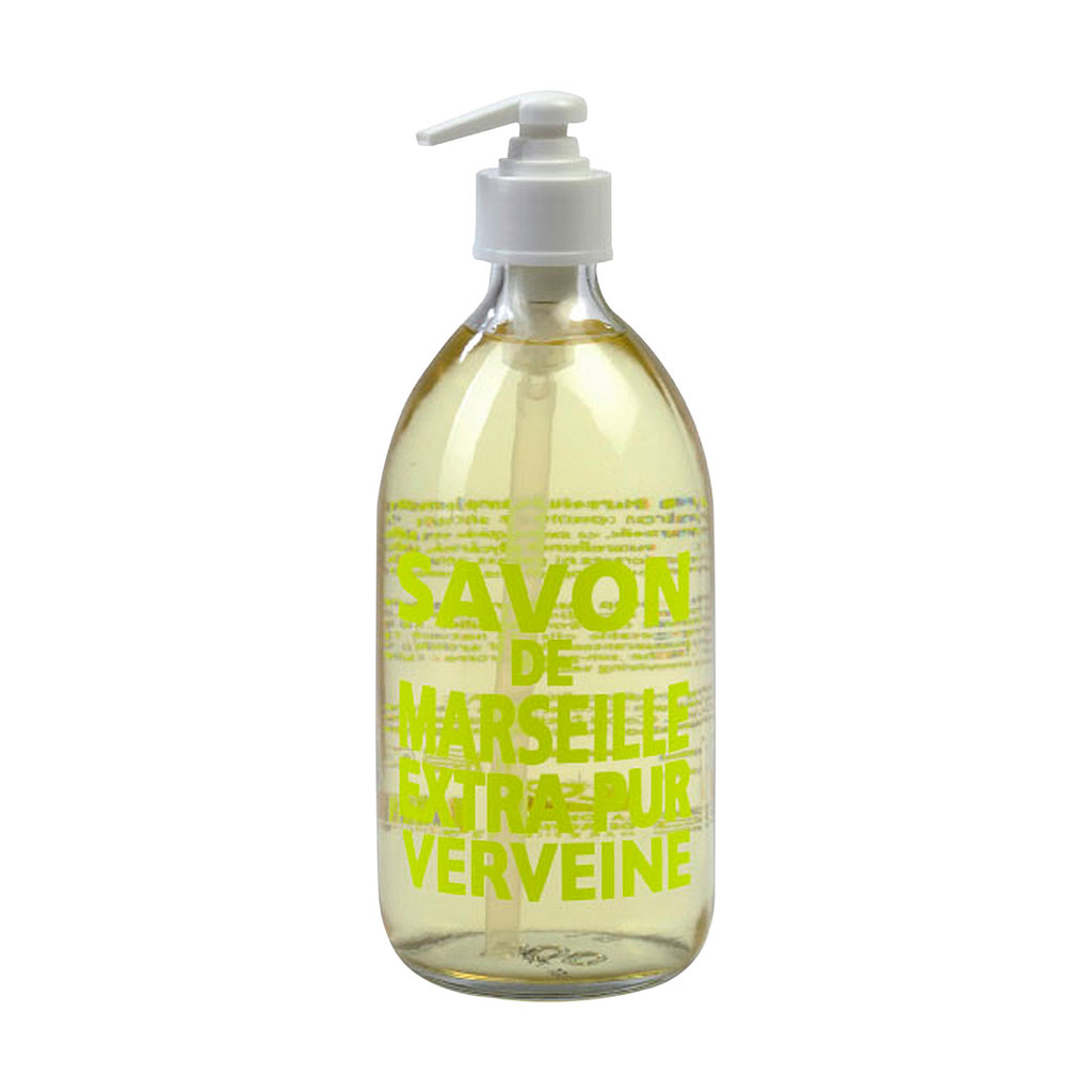 Because American hand soap could never be so chic, a bottle of Savon de Marseille Extra Pur Verveine ($23) should grace your kitchen and bathroom sinks. The soap is made from 72 percent vegetable oil and smells so divine, you'll be hooked.