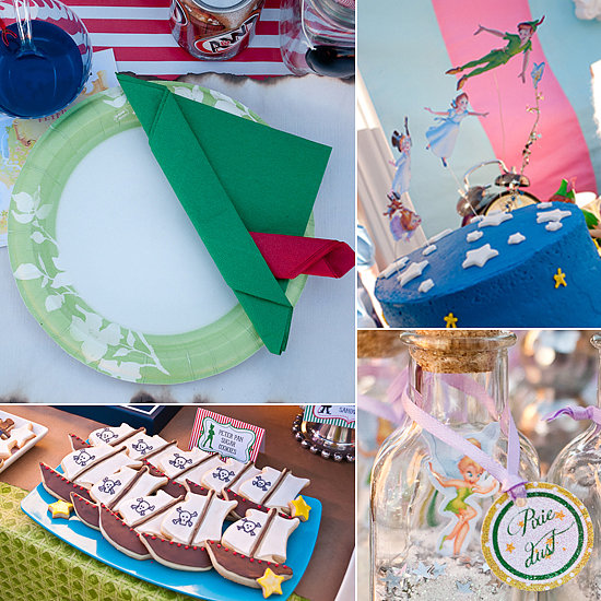Off to Neverland: A Cute and Creative Peter Pan Party
