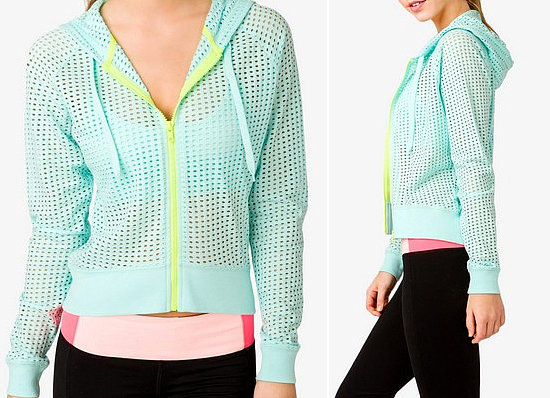 Forever 21 Perforated Hoodie