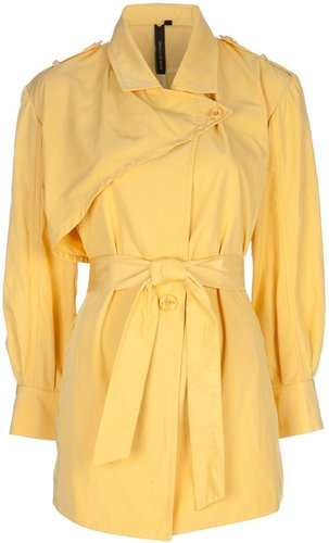 Labour Of Love oversized trench jacket