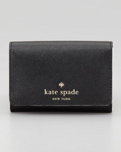 Kate Spade New York Mikas Pond Darla Small Key Wallet, Black