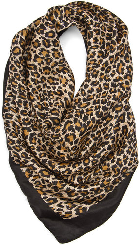 TOUCH - Colored animal print foulard
