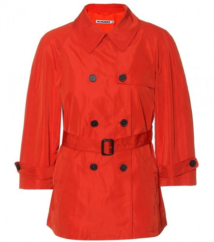 Winter Coat Jacket Orange