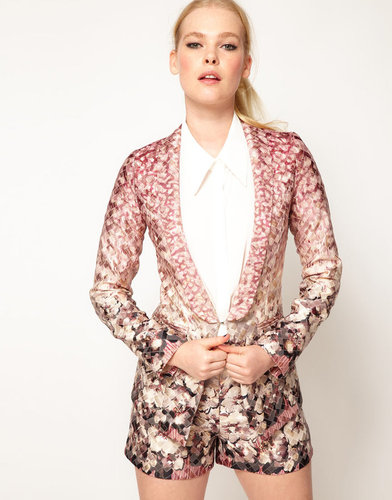 Sister Jane Metallic Floral Jacket