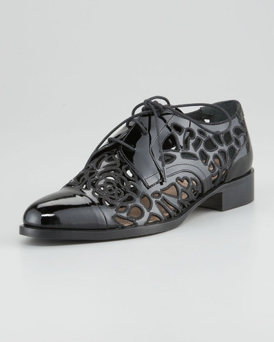 Valentino Cut Out Oxford