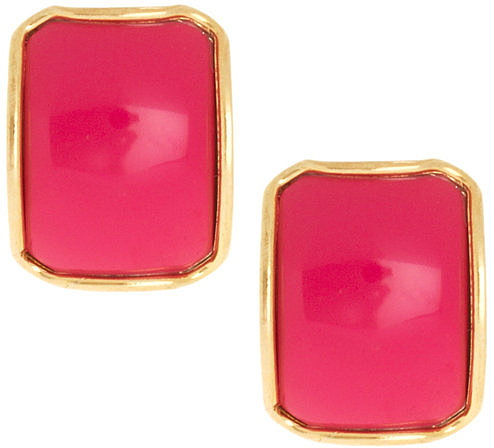 Susan Caplan Exclusive For ASOS Vintage 80s Square Earrings