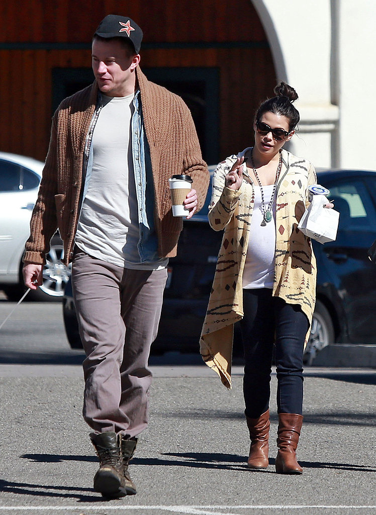 Channing Tatum and Jenna Dewan grabbed coffee on Thursday.
