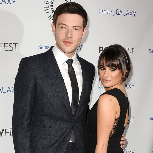Lea Michele and Cory Monteith Honor Ryan Murphy | Pictures