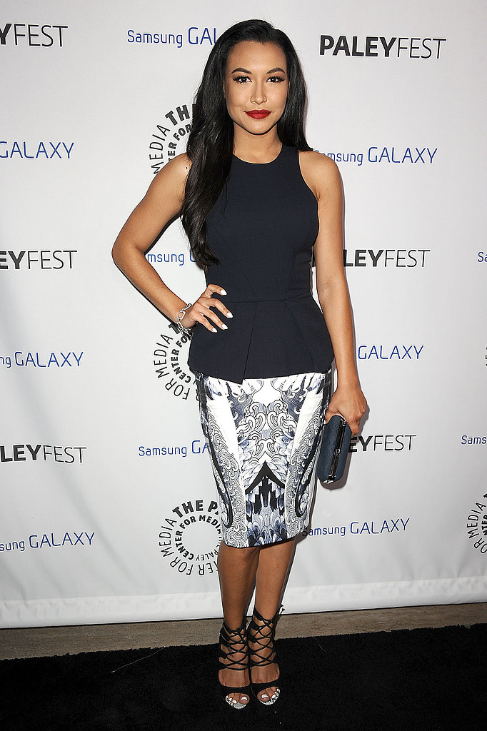 Naya Rivera looked chic at the event.