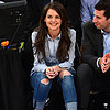Katie Holmes at Knicks Basketball Game 2013