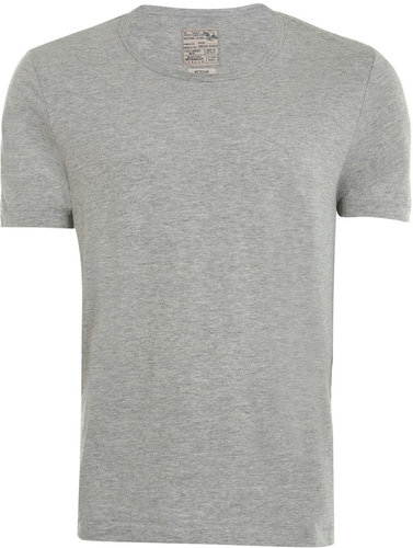 Grey Marl Scoop Neck T-Shirt