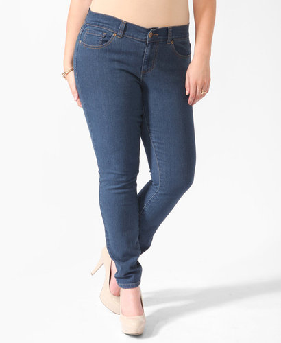 FOREVER 21+ Regular Length Skinny Jeans