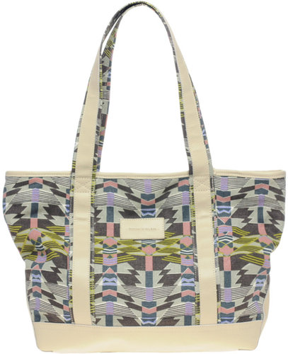 Surface To Air Art Deco Beach Bag