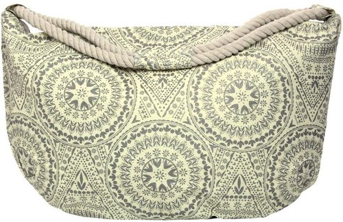 Julia Paisley Print Beach Bag