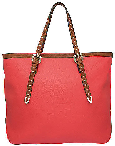 DAISY - Studded Handle Shopper