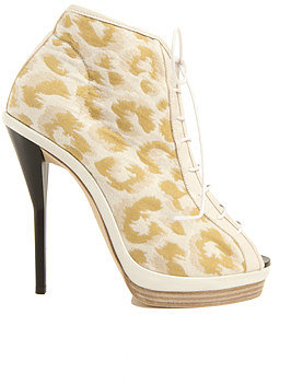 3.1 Phillip Lim Lace Up Bootie in Brass