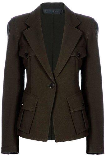 Donna Karan Military blazer