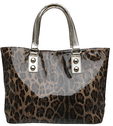 D PAM - Leopard Print Shopper
