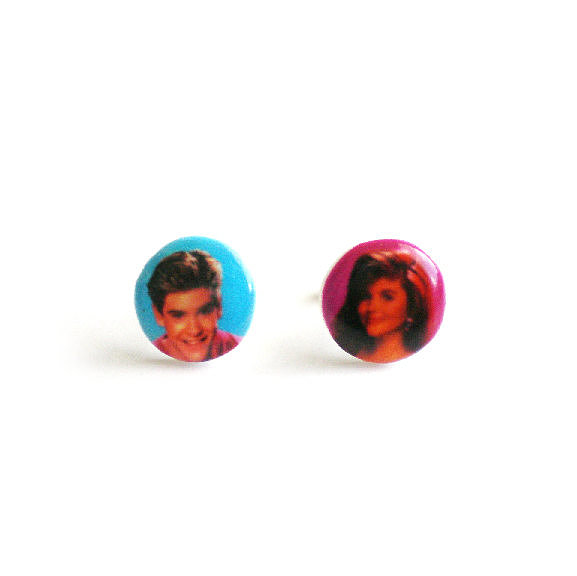 Zack and Kelly earrings ($9)