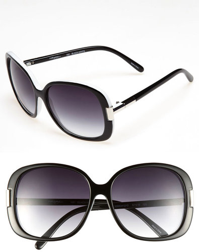 Halogen Oversized 57mm Sunglasses