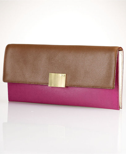 Lauren Ralph Lauren Handbag, Newbury Colorblock Clutch