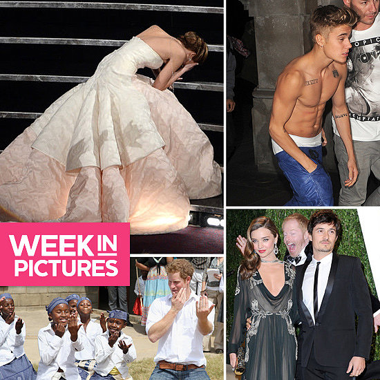 The Week in Pictures: Jennifer's Oscars Moment, Justin Shirtless, Miranda Photobombed & More!