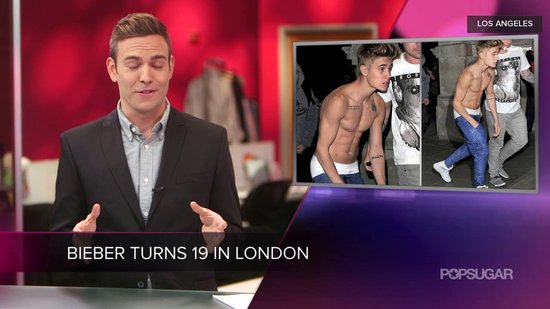 Video: Justin Bieber Goes Shirtless, Michelle Obama Addresses Oscar Critics, and More!