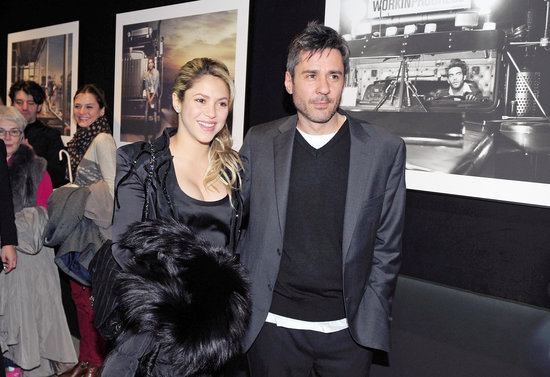 Shakira attended Jaume de Laiguana's photo exhibition in Barcelona on Thursday.
