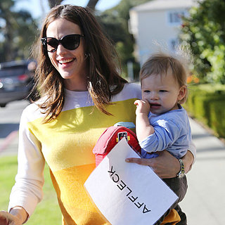 Jennifer Garner Carrying Samuel in LA