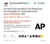 The AP tells it like it is.