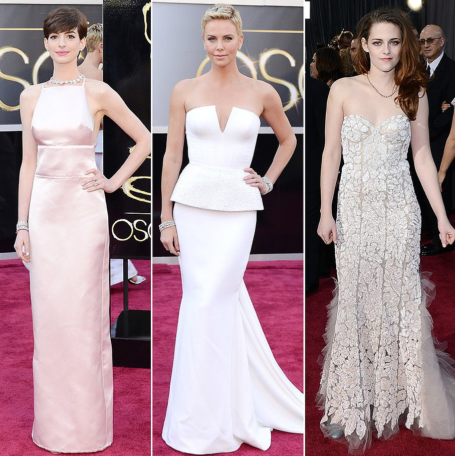 We were in love with all of the light dresses that appeared on the red carpet.